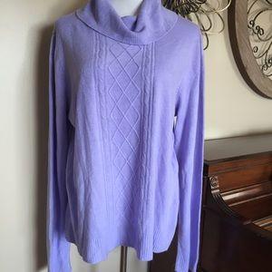 NWT Karen Scott Size XXL Purple Sweater